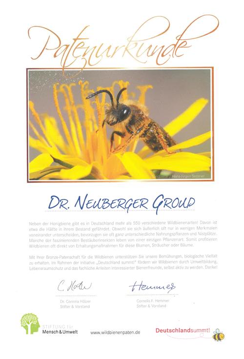 Deutschland summt! – Unsere Bienenpatenschaft